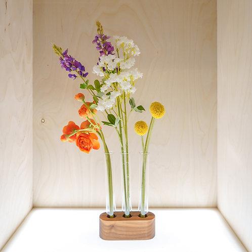 Round-Edge Vase with three holes