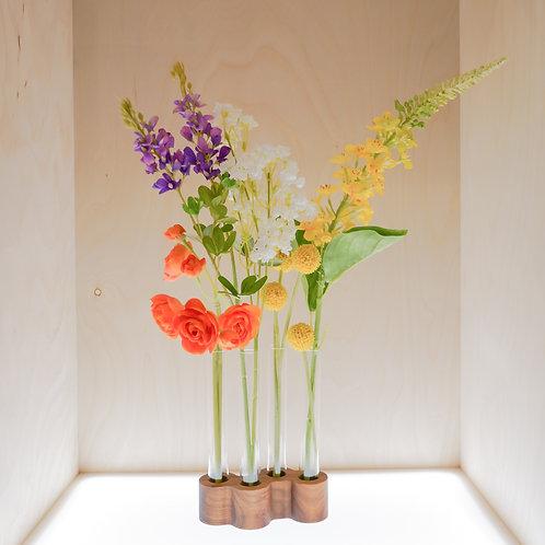 Zigzag Vase with four holes