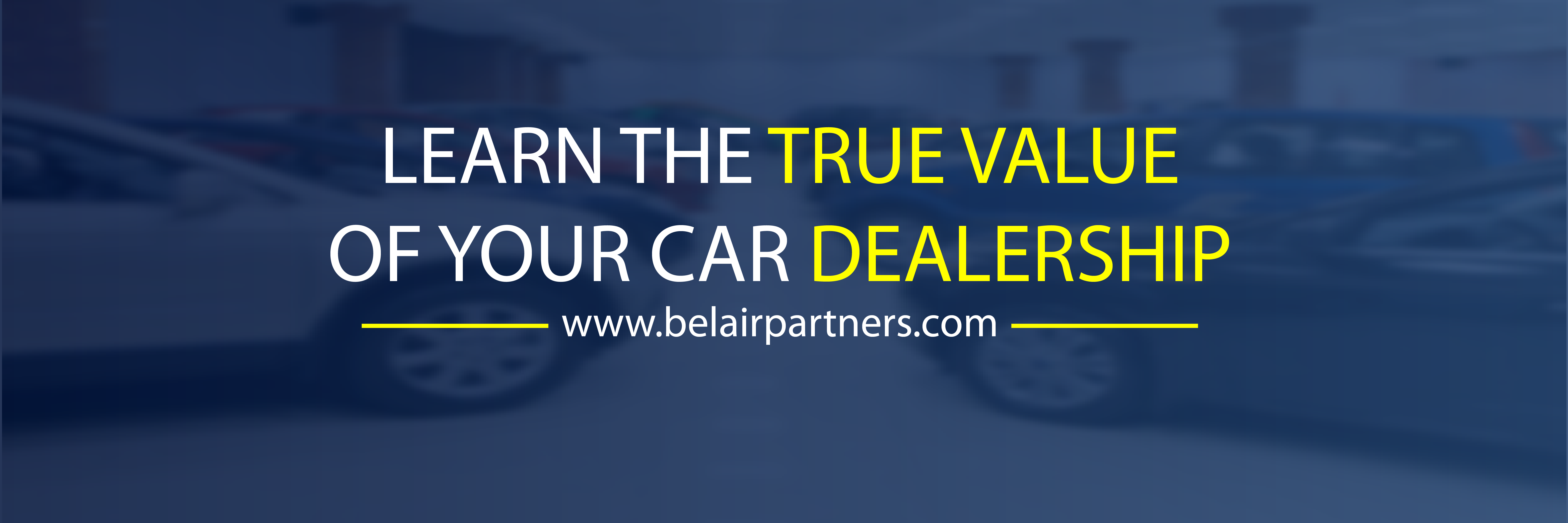 Twitter Banner for BelAir Partners