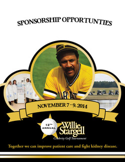 Front Cover to Sponsor Packet