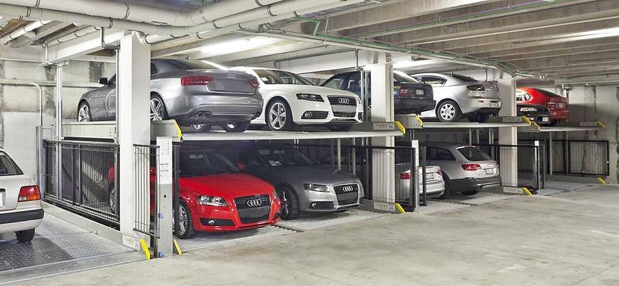 зависимые парковвочные подъемники