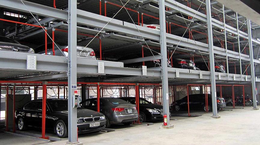 автоматиироанный паркинг типа карт