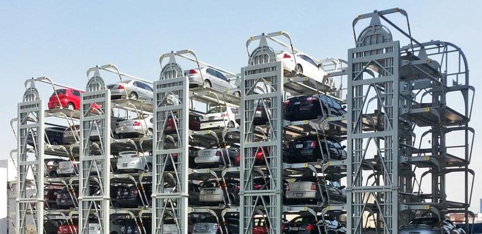 механизированные парковки роторного типа