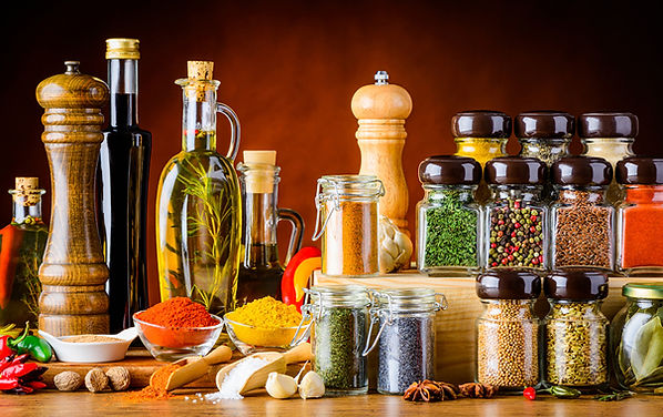 Spices_Star_anise_Illicium_Garlic_Black_