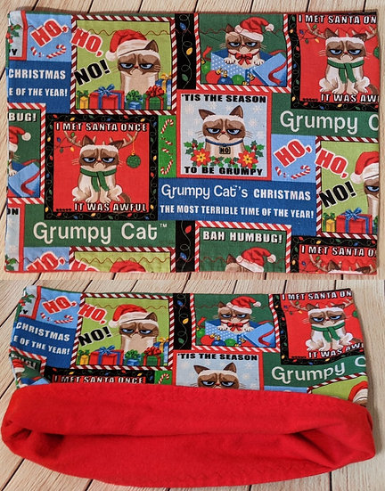 A Grumpy Christmas Adult Neckwarmer
