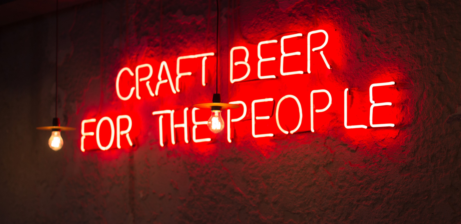 LED Neon Sign in Bar