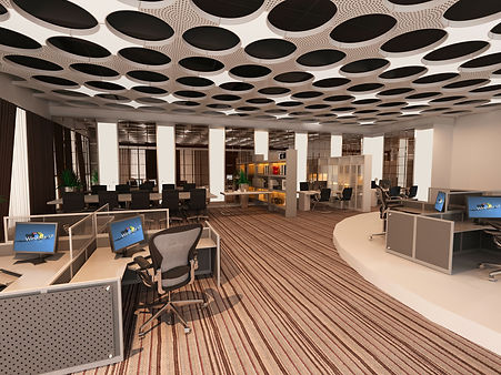 acoustic ceiling and lighting panel