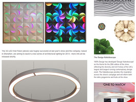 Neonny is recommended again by 100% Design London 2014
