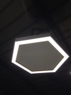 LED LIGHT+Acoustic HEXAGON 1200_NEONNY