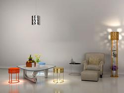 DESIGN PENDENT LAMP/LIGHT - LANTERN