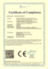 CE-EMC CERTIFICATE - LED PANEL