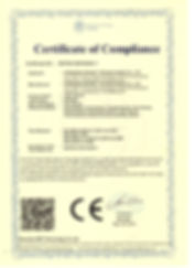 CE-EMC CERTIFICATE - LED LIGHTS