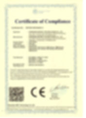 CE-LVD CERTIFICATE - LED PANEL