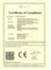 CE-LVD CERTIFICATE - LED PANEL LIGHTS