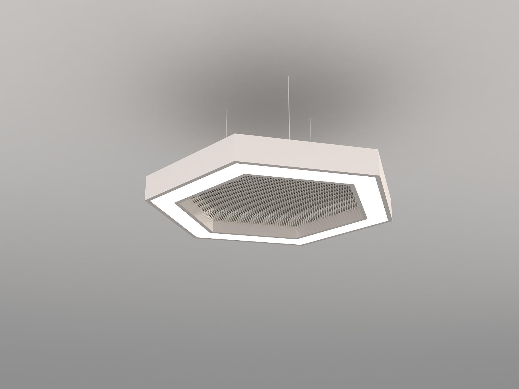 LED + ACOUSTICS SERIES - HEXAGON