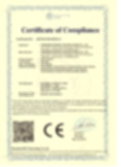 CE-LVD CERTIFICATE - LED LIGHTS