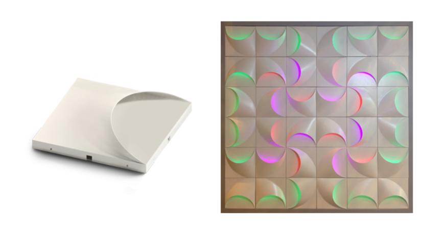 3D LED WALL PANEL