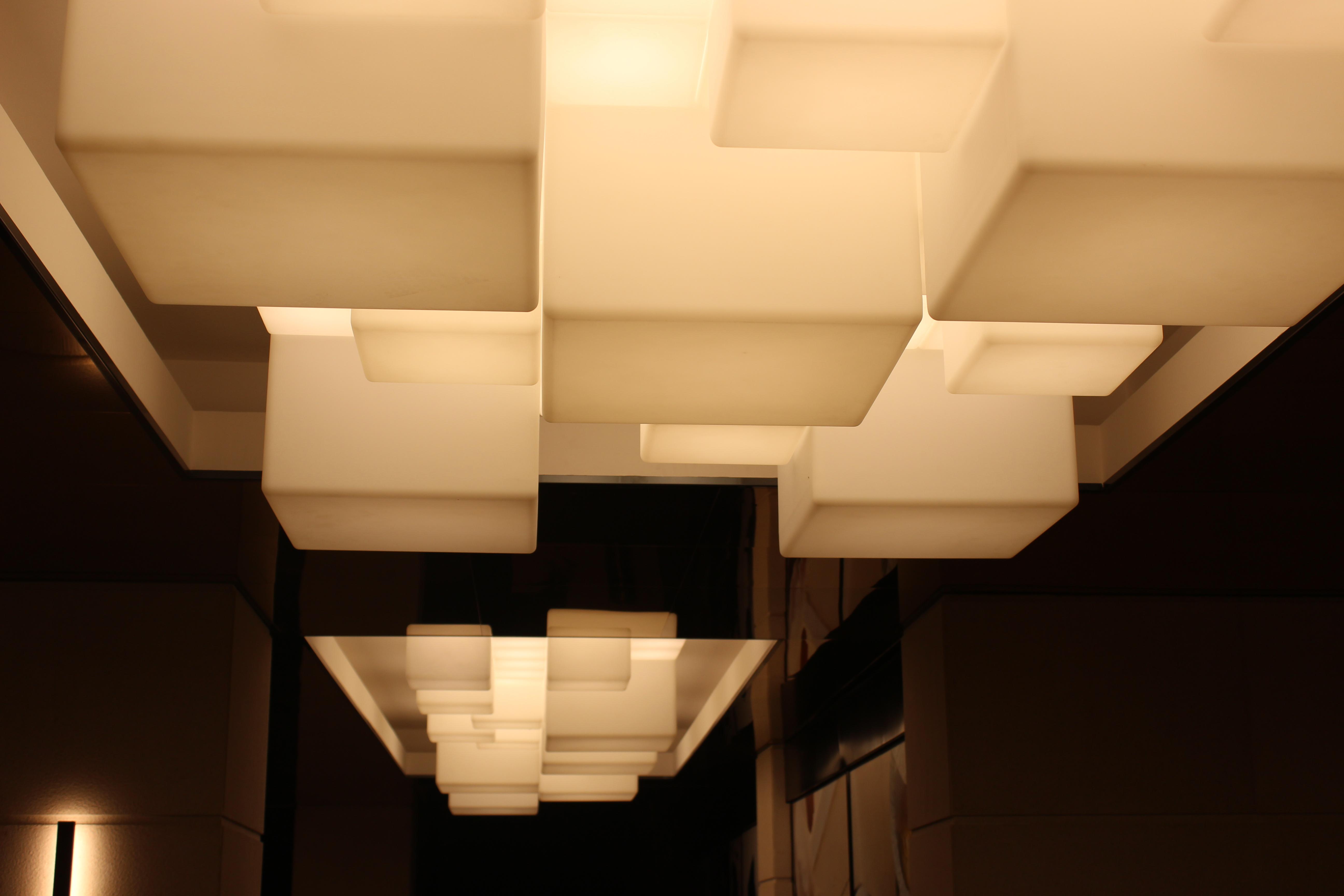 Cubiod Ceiling Lamps