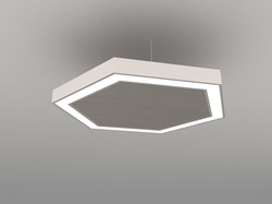 LED ACOUSTICS SERIES - HEXAGON
