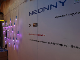 Neonny shines at 100% Design London 2014