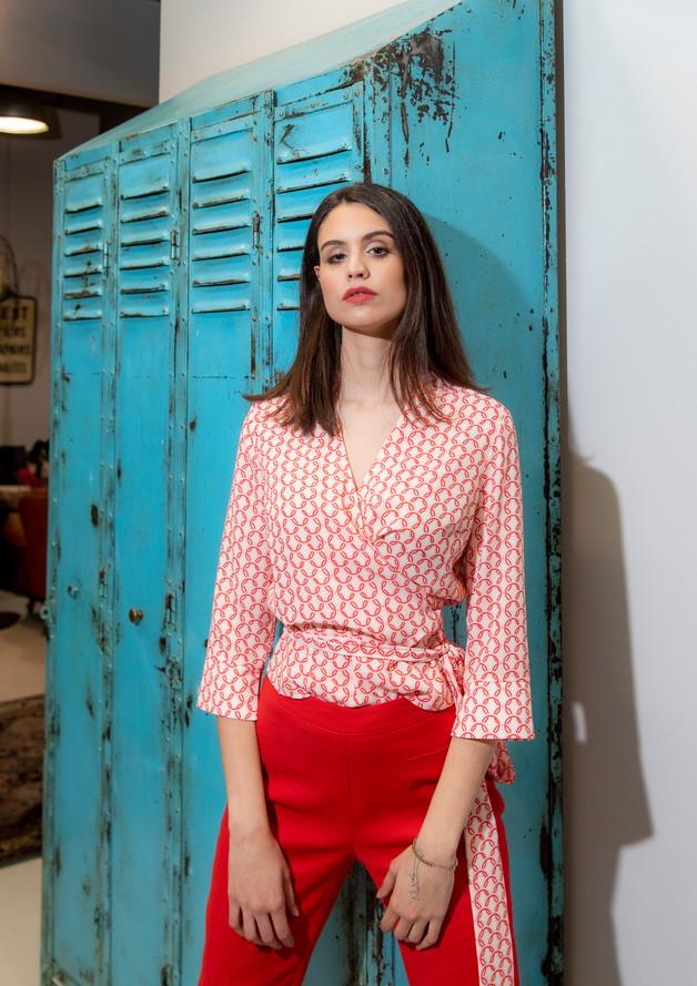 Camicia Azalea Fantasia