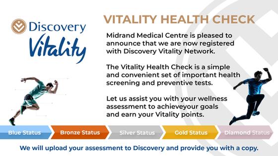 Discovery Vitality Health Checks
