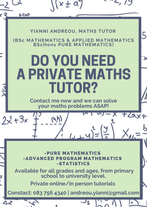 Private Maths Tutoring