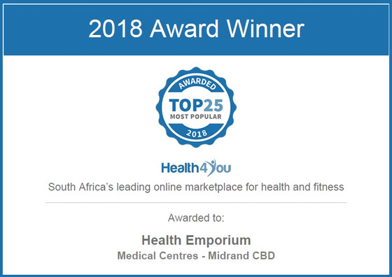 Health 4 You Top 25 Award