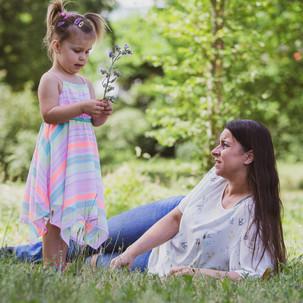 Kathleen mit ihrer Tochter