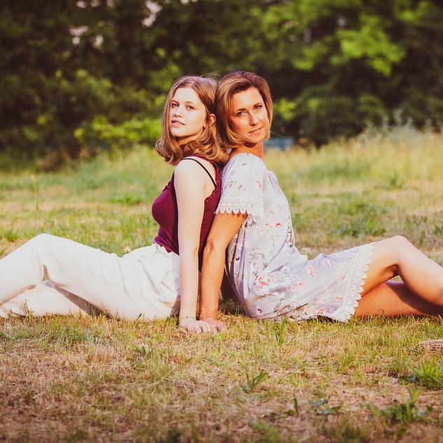 Claudia und Lee-Ann