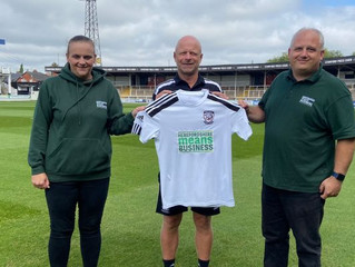 Hereford means Business sponsor Hereford FC under 18s