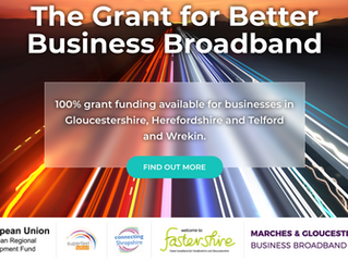 Only 2 weeks left to apply for our 100% fully funded business broadband grant