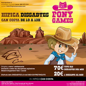 PONYGAMES Can Costa