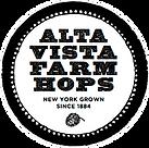 alta vista farm hops logo