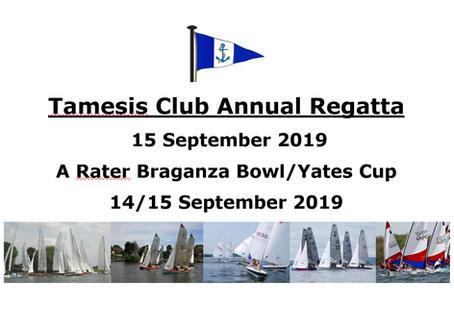Thamesis Annual Regatta 2019