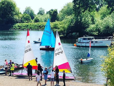 TYC Open Day 9 June - A Sailing Success!