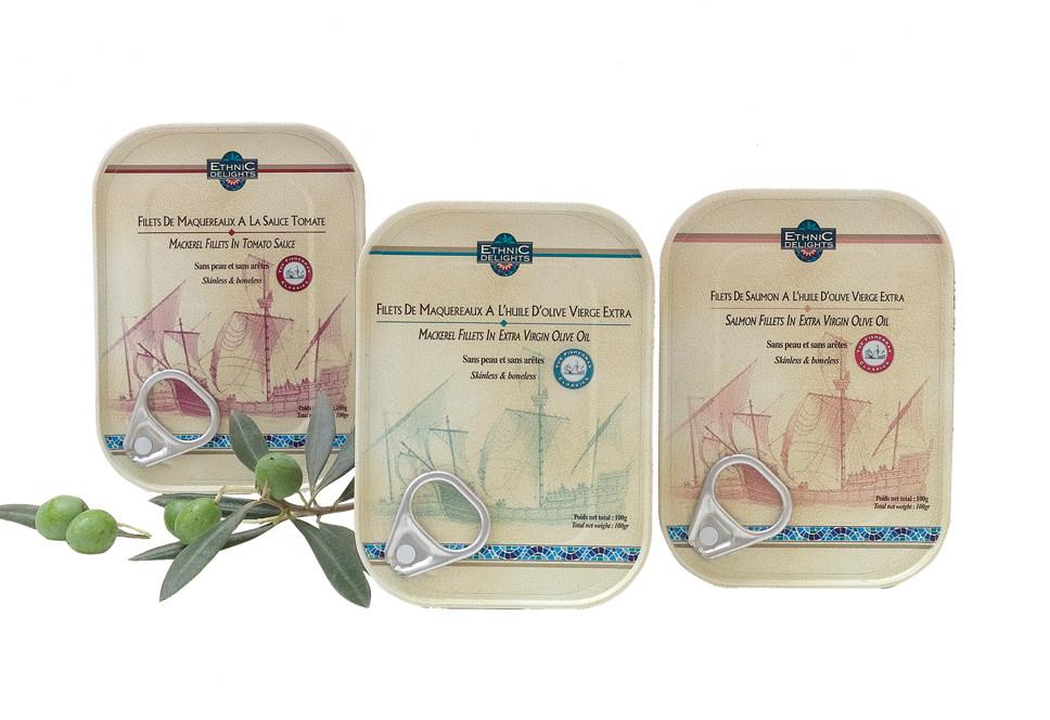 pack design for Ethnic Delights