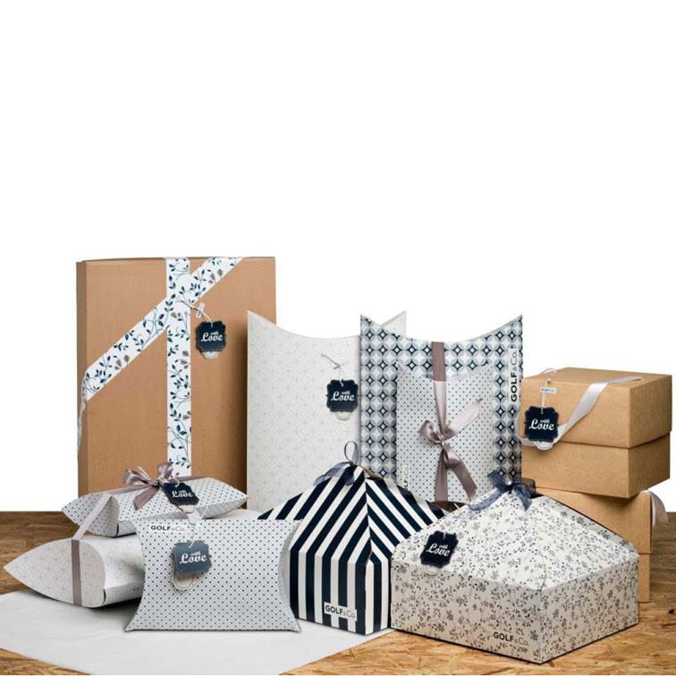 Holiday packaging for Golf & co