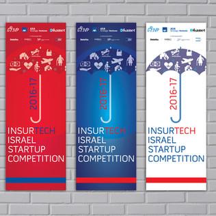 insurTech by JVP event branding