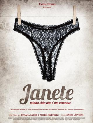 Janete. Minha vida não é um romance