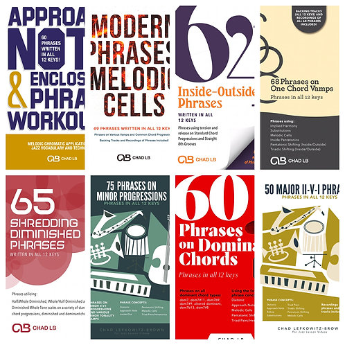 (Bass Clef) Phrases Combo Package - All 8 Phrase Based PDF Packages!