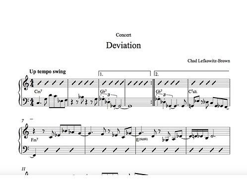 Deviation Sheet Music