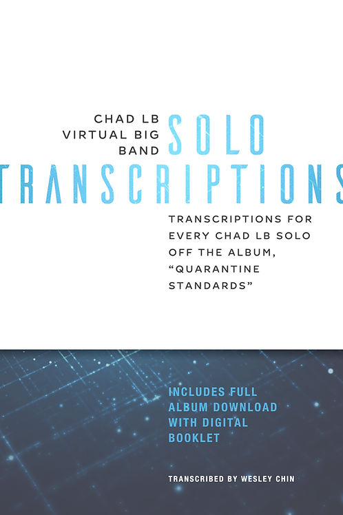 (Bb) Chad LB Virtual Big Band Solo Transcriptions