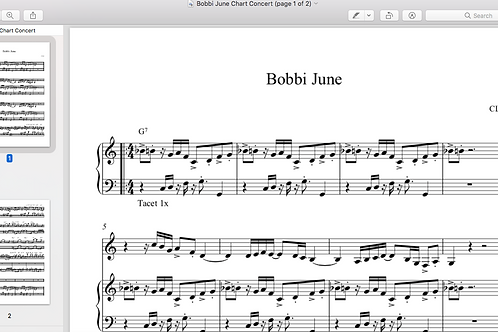 Bobbi June Sheet Music