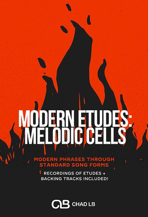 (Bb Tenor Sax) Modern Etudes: Melodic Cells