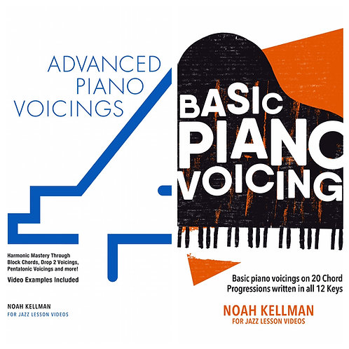 Piano Voicings Combo Package