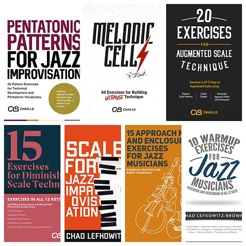 (Bass Clef) Technique Combo Package - All 7 Technique PDF Packages!