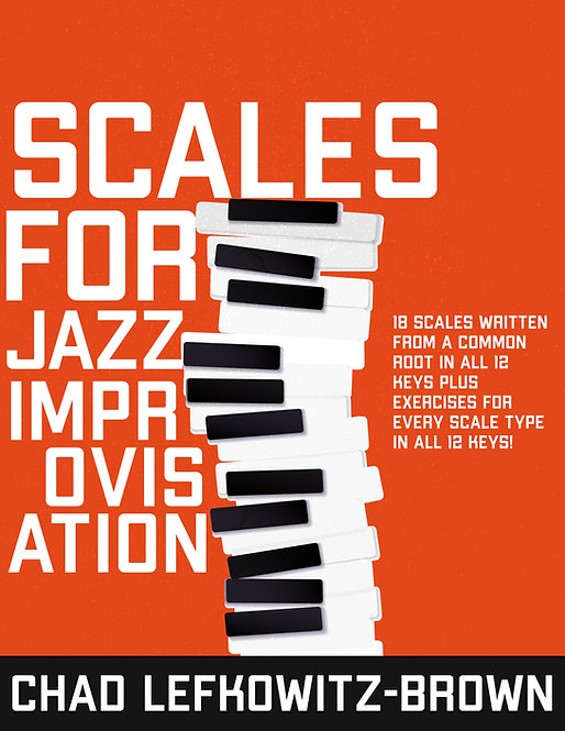 (Bass Clef) Scales For Jazz Improvisation (Digital Download)