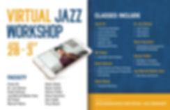 Virtual Jazz Workshop Poster Horizontal