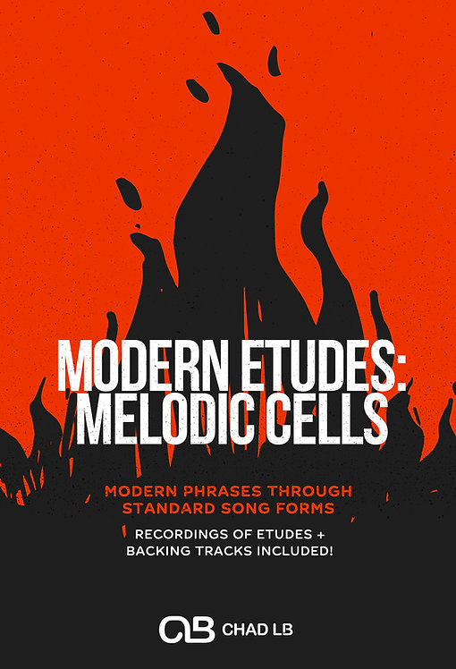 (Bass Clef) Modern Etudes: Melodic Cells